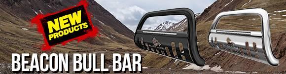 Black Horse Beacon Bull Bars