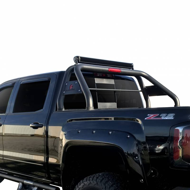 Roll Bar RB-TOTAB - Black | Fits 16-17 Toyota Tacoma