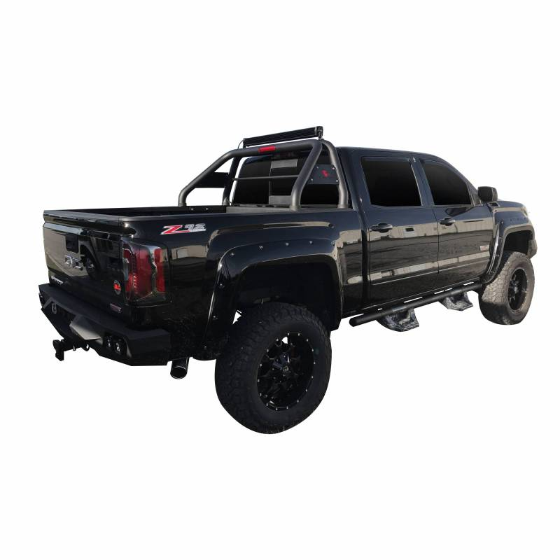 Nissan Frontier Off Road >> Roll Bar RB003BK - Black | Fits 15-18 GMC Canyon and Chevy Colorado