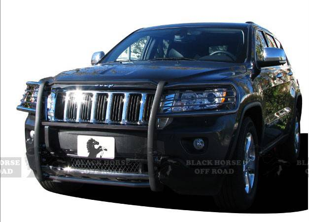 Jeep Grill Guards And Bumpers : Grille guard a ma black jeep grand cherokee