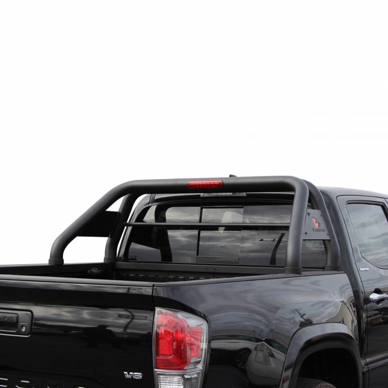 Toyota Tacoma Long Bed >> Roll Bar RB-TOTAB - Black | Fits 16-19 Toyota Tacoma