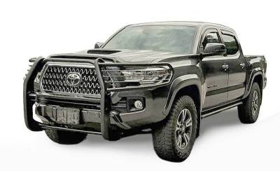 Black Horse Off Road - D | Grille Guard | Black |  Black Toyota  Tacoma 2016-2020