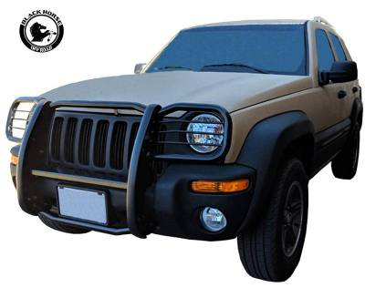 Black Horse Off Road - D | Grille Guard | Black | 17EH26MA