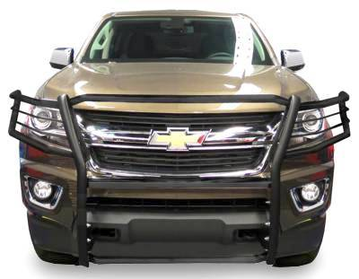 Black Horse Off Road - D | Grille Guard | Black | 17GC15MA