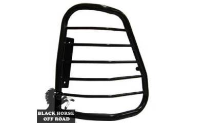 Black Horse Off Road - L | Tail Light Guards | Black | 7BC15A