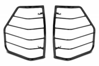 Black Horse Off Road - L | Tail Light Guards | Black