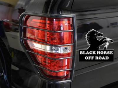 Black Horse Off Road - L | Tail Light Guards | Black | 7G098906A