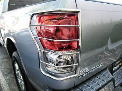 Black Horse Off Road - 7G098906SSL | Tail Light Guards | Stainless Steel  |