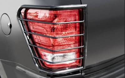 Black Horse Off Road - L | Tail Light Guards | Black | 7GMSLA