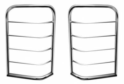 Black Horse Off Road - L | Tail Light Guards | Stainless Steel | 7GMSLSS