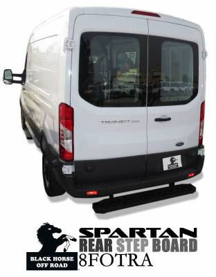 Black Horse Off Road - H | Spartan Rear Step Board | Black