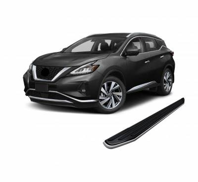 Black Horse Off Road - E | Premium Running Boards | Black | PR-RNIMU-15