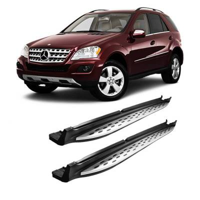Black Horse Off Road - OEM Running Boards RMW164 Mercedes-Benz ML63 AMG