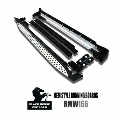 Black Horse Off Road - OEM Running Boards RMW166 Mercedes-Benz ML63 AMG