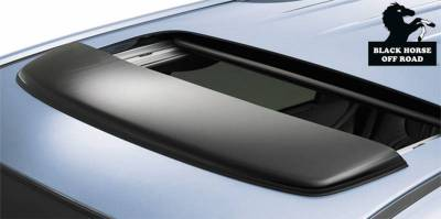 Black Horse Off Road - O | Sunroof Deflector | Color: Dark Smoke
