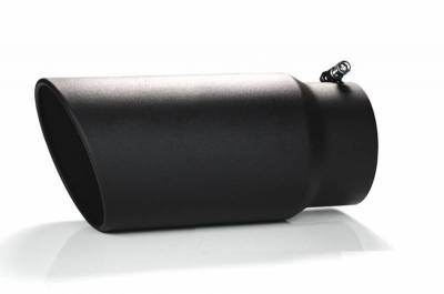 Black Horse Off Road - Muffler Tip MT-SC05-BK - Black