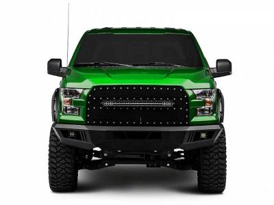 Black Horse Off Road - ARMOUR FRONT BUMPER FOR FORD F150 (Incl. EcoBoost engine model)  15-17