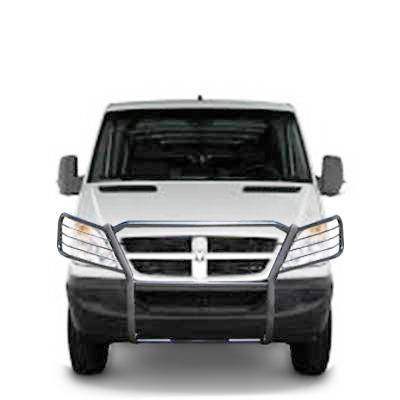 Black Horse Off Road - D | Grille Guard  | Black | 17D502MA