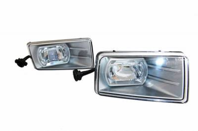 Black Horse Off Road - P | LED Fog Light | Color: Clear | Direct Plug In | CV287-LED-GMC
