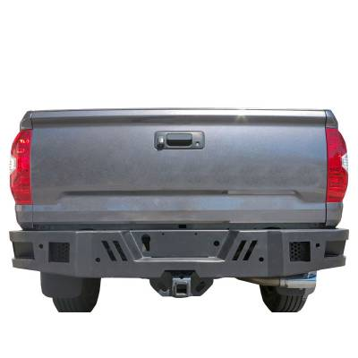 Black Horse Off Road - ARMOUR REAR BUMPER FOR 14-19 TOYOTA TUNDRA