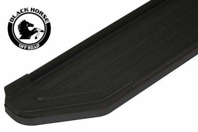 Black Horse Off Road - E | Peerless Running Boards | Black | PR-TY4RTEBK
