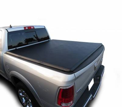 Black Horse Off Road - K | Premier Soft Tonneau Cover | Black | 5.7ft bed | PRS-DO10