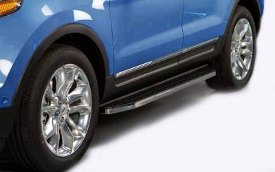 Black Horse Off Road - E | Premium Running Boards | Black | PR-T369
