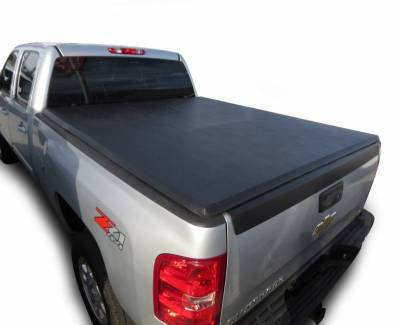 Black Horse Off Road - K | Premier Soft Tonneau Cover | Black | 6.6ft bed | PRS-GM09