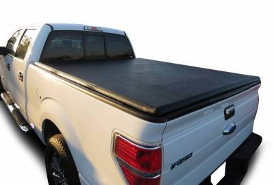 Black Horse Off Road - K | Premier Soft Tonneau Cover | Black | 6.6ft bed | PRS-FO06