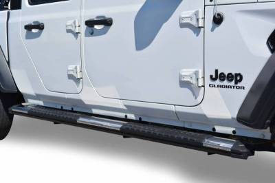 Black Horse Off Road - E | Cutlass Running Boards | Stainless Steel | RN-JEG1-79