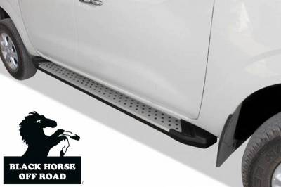Black Horse Off Road - E | Vortex Running Boards | Aluminum |    VO-F576