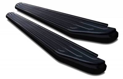 Black Horse Off Road - E | Peerless Running Boards | Black |    PR-G479BK