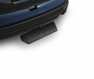 "Black Horse Off Road - H | Blade Rear Bumper Guard Step | Textured Black | 2"" Inlet - 12"" Long 