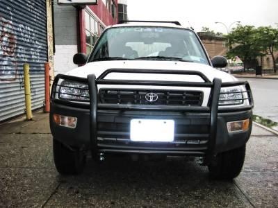 Black Horse Off Road - Grille Guard PG26004A - Black Toyota RAV4