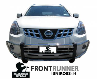 Black Horse Off Road - Front Runner 15NIROSS-14 - Stainless Steel Nissan Rogue