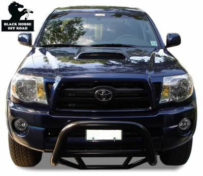 Black Horse Off Road - Max Bull Bar MBB-TOD1109 - Black Toyota Tacoma & Tundra