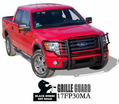 Black Horse Off Road - Grille Guard 17FP30MA - Black Ford F-150