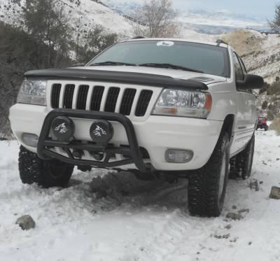 Black Horse Off Road - Max Bull Bar MBB-JEB4001 - Black Jeep Grand Cherokee