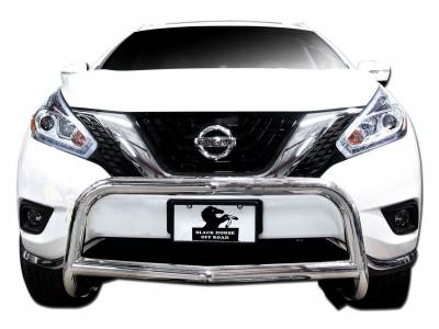 Black Horse Off Road - Bull Bar BB8505SS-SP - Stainless Steel with Stainless Steel Skid Plate Nissan Murano