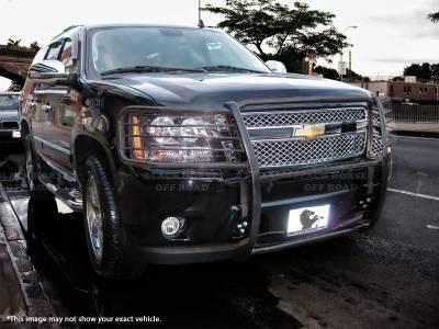 Black Horse Off Road - Grille Guard 17DG105MA - Black Dodge Ram 1500, Ram 2500, Ram 3500