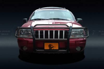 Black Horse Off Road - Grille Guard 17EB26MA - Black Jeep Grand Cherokee