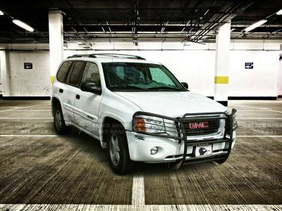 Black Horse Off Road - Grille Guard 17GD26MA - Black GMC Envoy