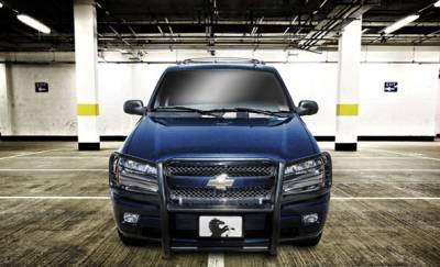 Black Horse Off Road - Grille Guard 17GK26MA - Black Chevrolet Trailblazer