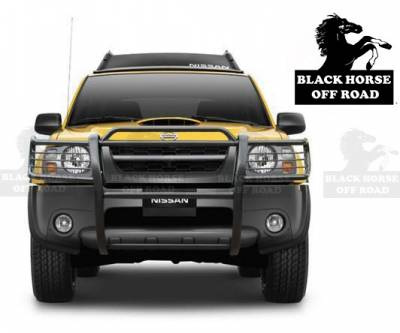 Black Horse Off Road - Grille Guard 17NI26MA - Black Nissan Frontier & Xterra