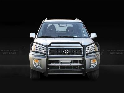 Black Horse Off Road - Grille Guard 17TH26MA - Black Toyota RAV4