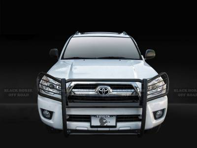 Black Horse Off Road - Grille Guard 17TU26MA - Black | GX470, 4Runner, Sequoia, Tundra