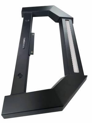 Black Horse Off Road - Armour Bull Bar For 10-18 Dodge Ram 2500/3500 (W/ Parking Sensor Relocation Kit)- NO LED LIGHT