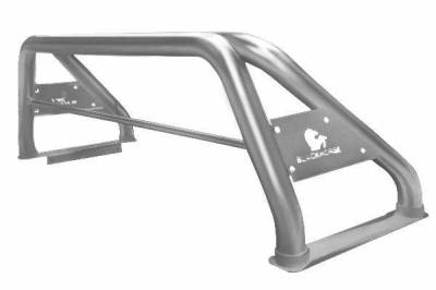 Black Horse Off Road - Classic Stainless Steel Roll Bar for 15-19 Toyota Tacoma, Chevrolet Colorado, GMC Canyon