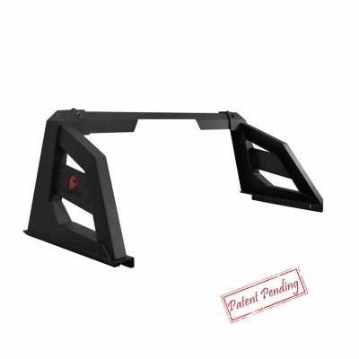 Black Horse Off Road - Black Horse Off Road Armour Roll Bar Kit RB-AR1B Black Steel Chevy Silverado/ Toyota Tundra/ GMC Sierra/Ford F150/ RAM 1500