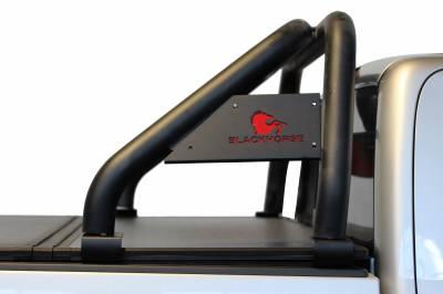 Black Horse Off Road - J   Classic Roll Bar   Black Tonneau Cover Compatible   RB007BK